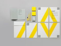 Simple and bold #stationery #design