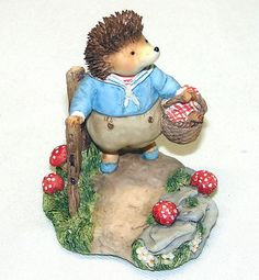 Villeroy Boch Foxwood Tales Willy Hedgehog Picnic at Foxwood | eBay