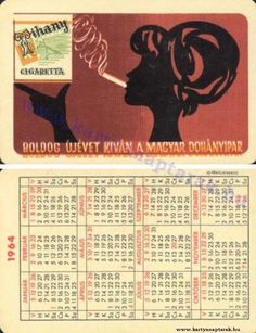 1964 - 1964_0155 - Régi magyar kártyanaptárak
