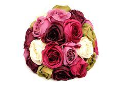 Artificial Bohemian Rose Wedding Table Centre Piece