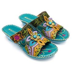 Socofy SOCOFY Bohemian Leather Adjustable Hook Loop Printing Forest Sandals is comfortable to wear. Shop on NewChic to see other cheap women sandals on sale Mobile. Women's Shoes, Dress Shoes, Golf Shoes, Sports Shoes, Buy Shoes, Palm Beach Sandals, Wedge Sandals, Gladiator Sandals, Sandal Wedges