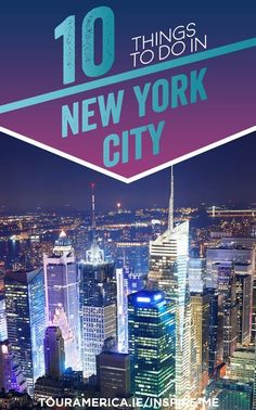 New York City is like no where else in the world. We've compiled a list of the top 10 things to do in New York City to help you plan your New York Holiday! New City, New York City, New York Attractions, All Things New, New York Travel, Stuff To Do, Travel Tips, Places To Visit, Tours