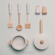 Houten keukenset 13 delig | Grijs