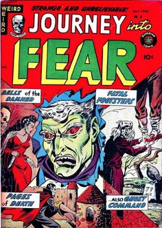 Comic Book Cover For Journey into Fear #8