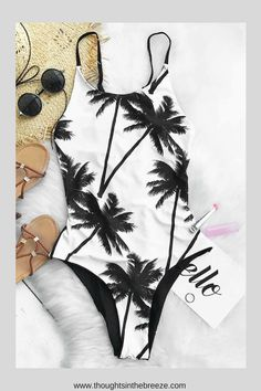 $25.99 Cupshe Sweet Coconut Milk One-piece Swimsuit. Fashionable swimsuits for summer and spring break. Trendy selections of stylish swimwear online. There are sexy, cute, boho, tribal, casual bathing suits with different prints in solid color, bikini's, tanks, tankini's, Suits for those who are modest, curvy, sporty, moms, or teens, they have flattering swimsuits for any body shape. #bikini, #swimsuits, #tankini, #onepiece, #summerfun, #affiliate, #summerfashion, #fashion