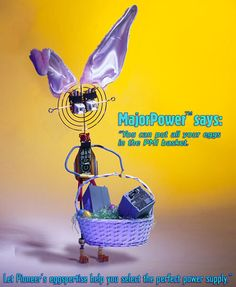 Happy Easter from Pioneer Magnetics, your premier switching power supply manufacturer. http://www.pioneermag.com