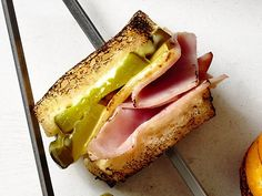 ham and cheese sandwich camping