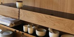 Wooden Wall Shelves Adding New Modern Design to Modular Furniture