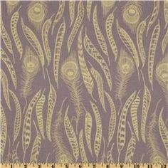 Anna Maria Horner Field Study Fine Feathered Whisper Lavender (Fabric for Carson's room)