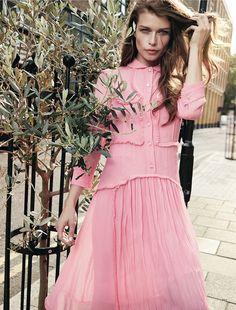 Louise Pedersen for Harper's Bazaar Russia by Lado Alexi