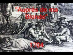 Auprès de ma Blonde - 1704