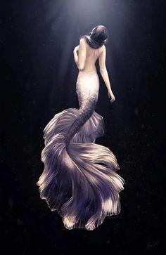 Mermaid by Nazar Noschenko