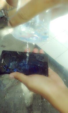 Phone wash
