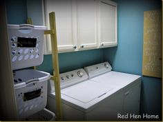 Refitted Laundry Room