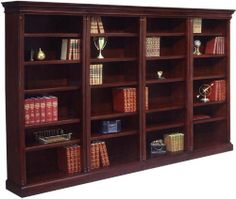 Four Section Bookcase By Dmi Office Furniture 3375 00 Lifetime Warranty
