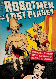 Robotmen of the Lost Planet (No.1, 1952)