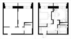 планировка однокомнатной квартиры 40 кв. м.