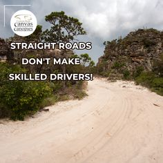 Straight roads don't make skilled drivers!  #cbcc #bakkie #plaas #plaaslewe #outdoors #outdoorsy #adventure #adventuretime #adventurer #travel #roadtrip #roadtrips #caraccessories #canopy #canopi #canopies #camping #campfire #campcamp #campo #camper #campvibes #roadtrip🚗  #custom Canvas Canopy, Canopies, Adventurer, Roads, Adventure Time, Camper, Road Trip, Outdoors, Beach