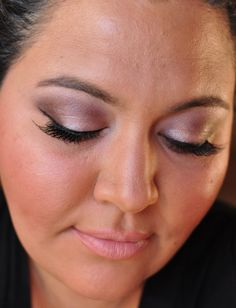 Fresh, feminine date night #makeup with Gable, Chenille, Very Vanilla & Glistening by @BFTE Cosmetics