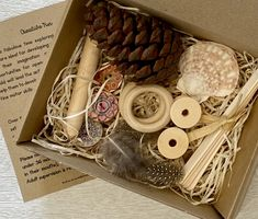Wooden Spools, Wooden Pegs, Cardboard Gift Boxes, Wooden Cutouts, Hands On Learning, Child And Child, Reggio Emilia, Creative Play, Educational Games