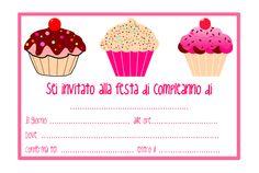 Inviti festa di compleanno da stampare