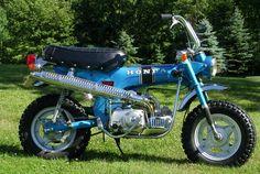 1970 Honda Trail 70. 4spd with manual clutch !