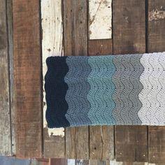Wedding Blanket crochet pattern in chunky yarn by Little Monkeys Design.