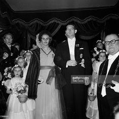 Marriage Of Yolande De Broglie And Michel De Bourbon-parma.