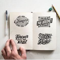 Instagram media by typographie_ - By @rylsee - @typographie_ #typographie #type #typebook #typography #Graphicalmadness #graphicdesign #graphicsdesign #graphics #design #handtype #handmade #handlettering #lettering #letter #logo #craft #art #illustration