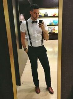 Suspenders Outfit Gallery mens formal wear 101 style tips you shouldnt miss Suspenders Outfit. Here is Suspenders Outfit Gallery for you. Men Formal, Formal Wear, Dandy Look, Suspenders Outfit, Men With Suspenders, Wedding Suspenders, Leather Suspenders, Look Man, Herren Outfit