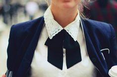 Cuello Blusa