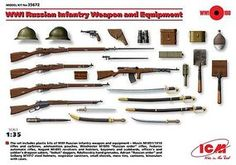 ICM, WW1 Russian weapons and equipment