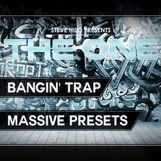 Bangin' Trap - Massive presets - new for electronic music producers of Trap, Hip Hop, EDM and Dirty South music Music Software, Trap Music, Best Apps, Electronic Music, Edm, The One, Hip Hop, Electronics, Music Production