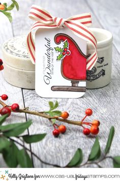 Notable Nest: 25 Days of Christmas Tags and CFS