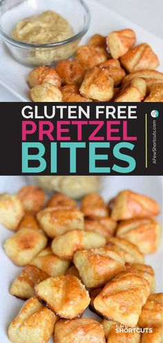 Free Soft Pretzel Bites Recipe Who knew that gluten free could be this good? Check out this Gluten Free Soft Pretzel Bites Recipe that turns out fabulous! Plus they are vegan too!