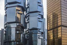 The Dizzying Cityscape of Hong Kong 07 Hong Kong Architecture, Architecture Images, Amazing Architecture, Hong Kong Building, Photos 2016, Urban Landscape, Skyscraper, Multi Story Building, Skyline