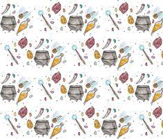 Hp things. fabric by raynerland on Spoonflower - custom fabric