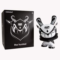 Kidrobot - The Hunted by Colus 8 inch Dunny