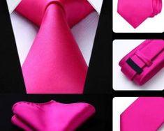 Luxusná kravatová sada - kravata a vreckovka v ružovej farbe0 Tie, Accessories, Fashion, Moda, La Mode, Cravat Tie, Fasion, Ties, Fashion Models