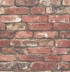 Loft Red Brick Wallpaper