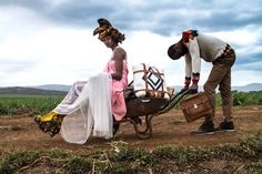 Incredible piece of portraiture from Swaziland, showcasing the designs of Swazi fashion brand JEREMPAUL. Shot in the Vuvulane region of the country by Daniele Tamagni. Fashion Brand, South Africa, African, The Incredibles, Country, Southern, Photography, Inspiration, Google Search