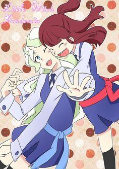 Akko X Diana (Yuri, Shoujo Ai) Little Wich Academia, Tumblr Posts, Anime, Shoujo, Pretty Pictures, Yuri, Diana, Witch, The Incredibles