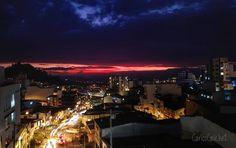 Líneas de colores / #Color #lines #colombia     #sun #sunset #sunsetmagic #colors #city #lights #car #streets #love #manizales #explorer