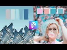 Color Palette Edit | Picsart Tutorial - YouTube Editing Pictures, Photo Editing, Cartoon Edits, Picsart Tutorial, Picsart Edits, Snapseed, Palette, Edit Photos, Youtube