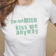 kiss me anyway St Patrick's Day Peppermint Patty Favor Free sweet Printables ishareprintables.com  #freeprintables #stpatricksday #ishareprintables