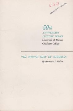 The World View of Moderns