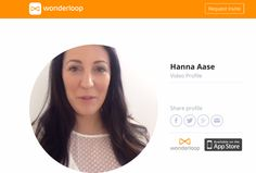 Wonderloop Launches A Web Version Of Its Video Profiles App | TechCrunch