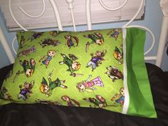 The Legend of Zelda fabric handmade custom pillowcase pillow case birthday gift get well by Darlingdeann on Etsy https://www.etsy.com/listing/269198319/the-legend-of-zelda-fabric-handmade