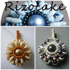 * Rizocake - freie Anleitung - perlenschmuck