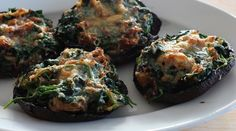 Spinach and Parmesan Stuffed Portobellos : Recipes : do it Delicious